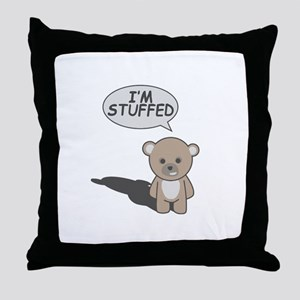 Teddy Stuffed Throw Pillow
