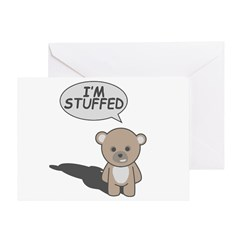 Teddy Stuffed Greeting Card