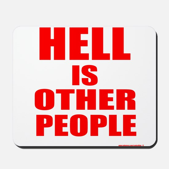 What is hell? Mousepad