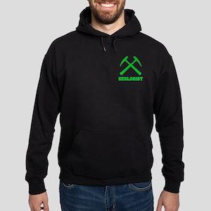 Geologist (green) Hoodie (dark)