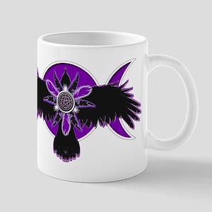 Crow Triple Goddess - Purple Mug