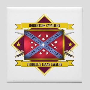 Robertson Cavaliers Tile Coaster