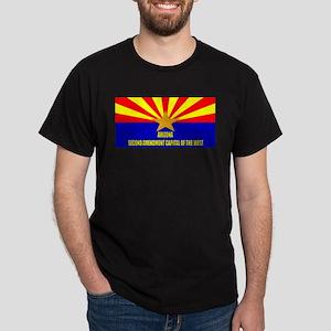 Arizona 2nd Amendment Capital Dark T-Shirt