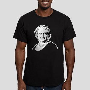 Maria Montessori Men's Fitted T-Shirt (dark)