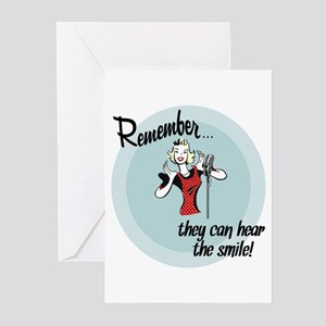They can hear the smile! Greeting Cards (Pk of 20)