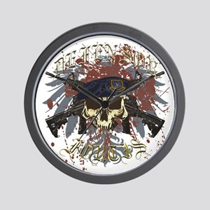 Security Forces Skull Urban I Wall Clock