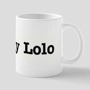 I Love My Lolo Mug