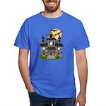 Halloween Haunted House Ghosts Dark T-Shirt