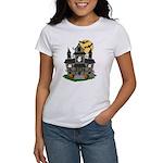 Halloween Haunted House Ghosts Women's T-Shirt