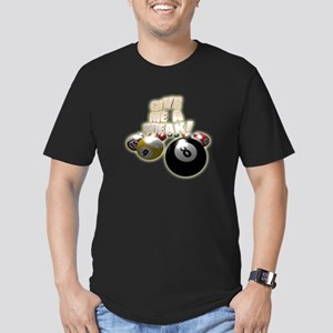 Give Me A Break Men's Fitted T-Shirt (dark)
