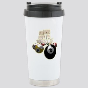 Give Me A Break Stainless Steel Travel Mug