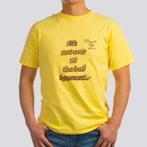 Unique tennis Yellow T-Shirt