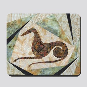 Tribal Greyhound Mousepad