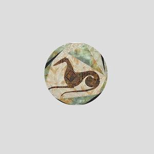 Tribal Greyhound Mini Button