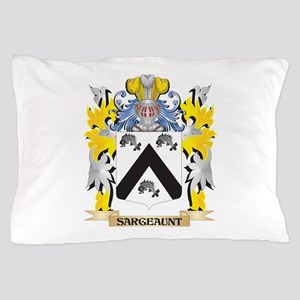 Sargeaunt Family Crest - Coat of Arms Pillow Case
