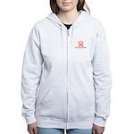 Silver Spring, Md Women's Zip Hoodie Sweatshir