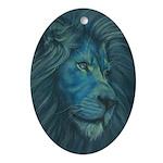 Divine Lion Ornament (Oval)