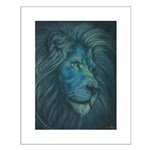 Divine Lion Small Poster
