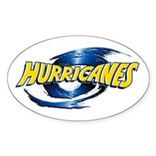 Hurricanes - Logo Only Oval Sticker
