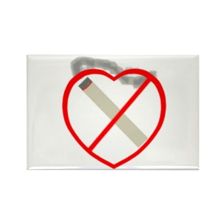 Quit Smoking Shop Rectangle Magnet (100 pack)