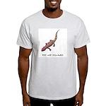 Plays With Salamanders Ash Grey T-Shirt