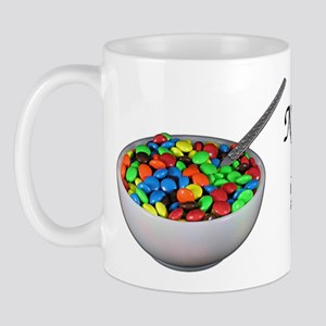 breakfast candy Mug