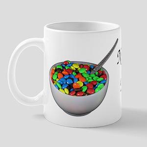 breakfast candy Mug