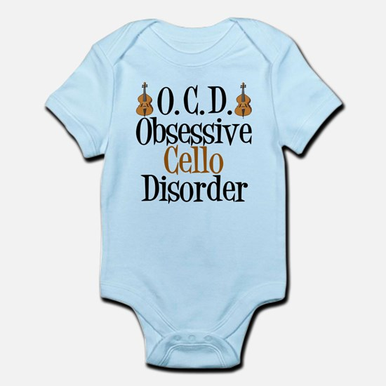 Funny Cello Infant Bodysuit