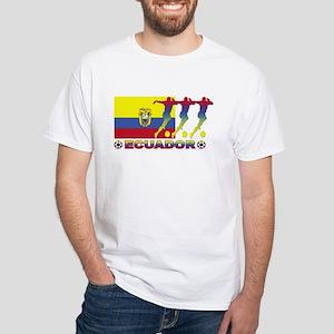 Ecuador soccer White T-Shirt