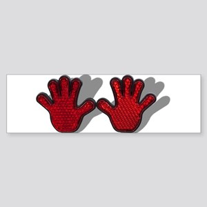 Reflective Hands Sticker (Bumper)