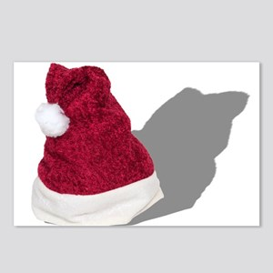 Santa Hat Postcards (Package of 8)