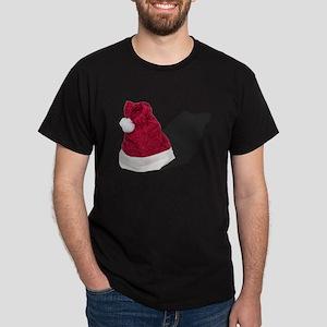 Santa Hat Dark T-Shirt