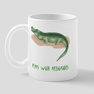 Plays With Alligators Mug