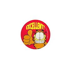 Garfield Excellent Mini Button (10 Pack)