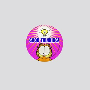 Garfield Good Thinking Mini Button