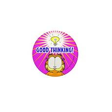 Garfield Good Thinking Mini Button (10 Pack)