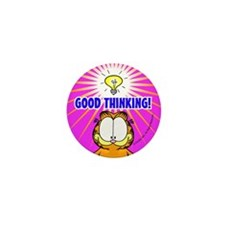 Garfield Good Thinking Mini Button