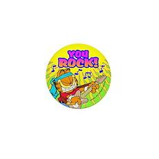 Garfield You Rock! Mini Button