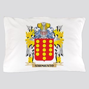 Sarmiento Family Crest - Coat of Arms Pillow Case