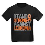 StandStrongAgainstLeukemia Kids Dark T-Shirt