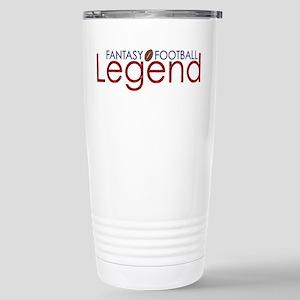 Fantasy Football Legend Stainless Steel Travel Mug