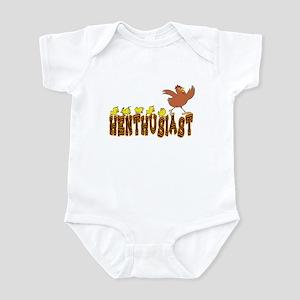 Henthusiast Chicken & Hens Infant Bodysuit