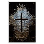 JG Photography 1000 crosses Large Poster