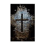 JG Photography 1000 crosses Mini Poster Print