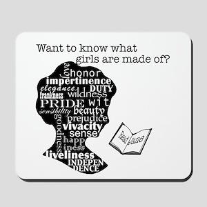 Read Jane Austen Mousepad