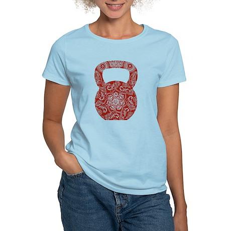 Henna Kettlebell Women's Light T-Shirt