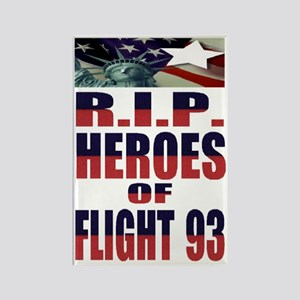 R.I.P. HEROES OF FLIGHT 93 Rectangle Magnet
