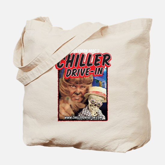 Chiller Drive-In Mac & Boney Tote Bag
