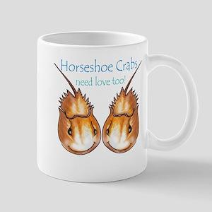 Horseshoe Crabs need love too Mug