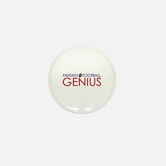 Fantasy Football Genius Mini Button
